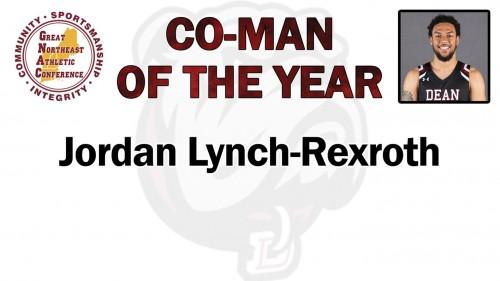 Jordan Lynch-Rexroth Named GNAC Co-Man of the Year