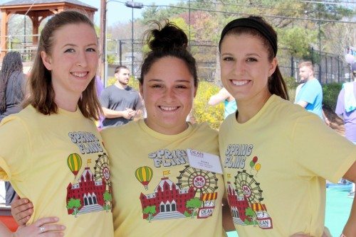 Dean College students at Spring Fling