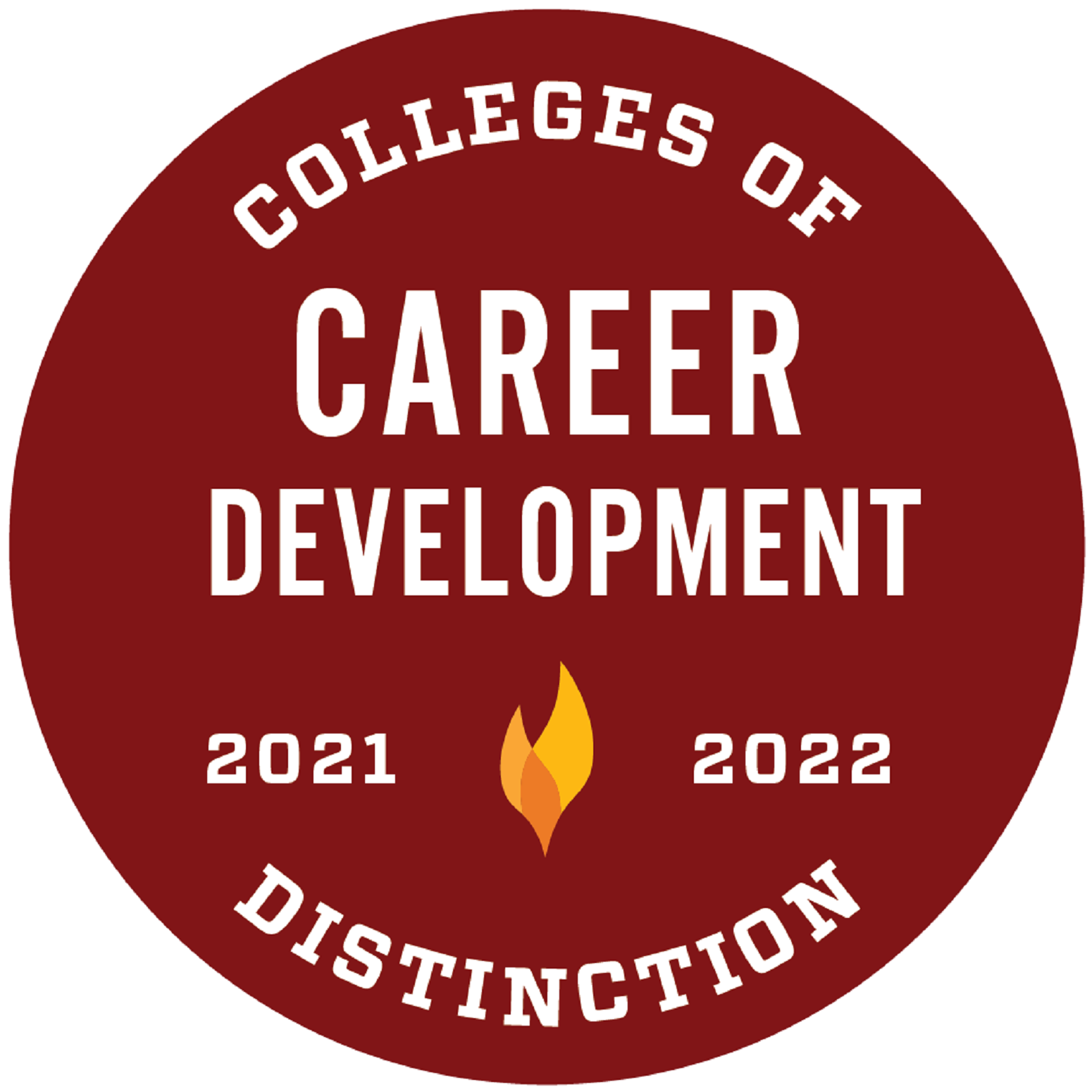 Colleges of Distinction Badge 2021-22