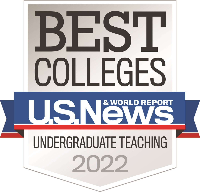 U.S. News & World Report Best Colleges Badge